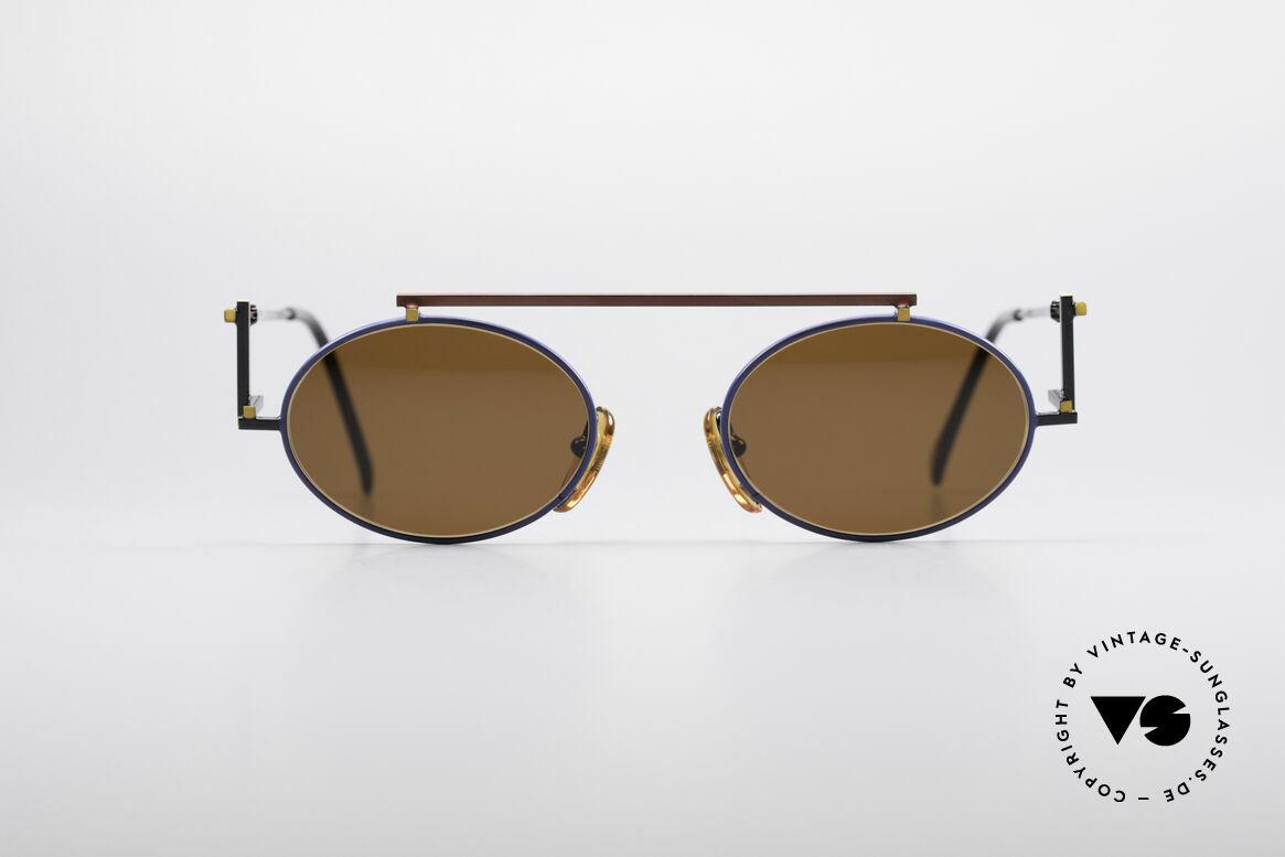 Casanova RVC4 Industrial Steampunk Shades, very interesting vintage 80's sunglasses by CASANOVA, Made for Men and Women