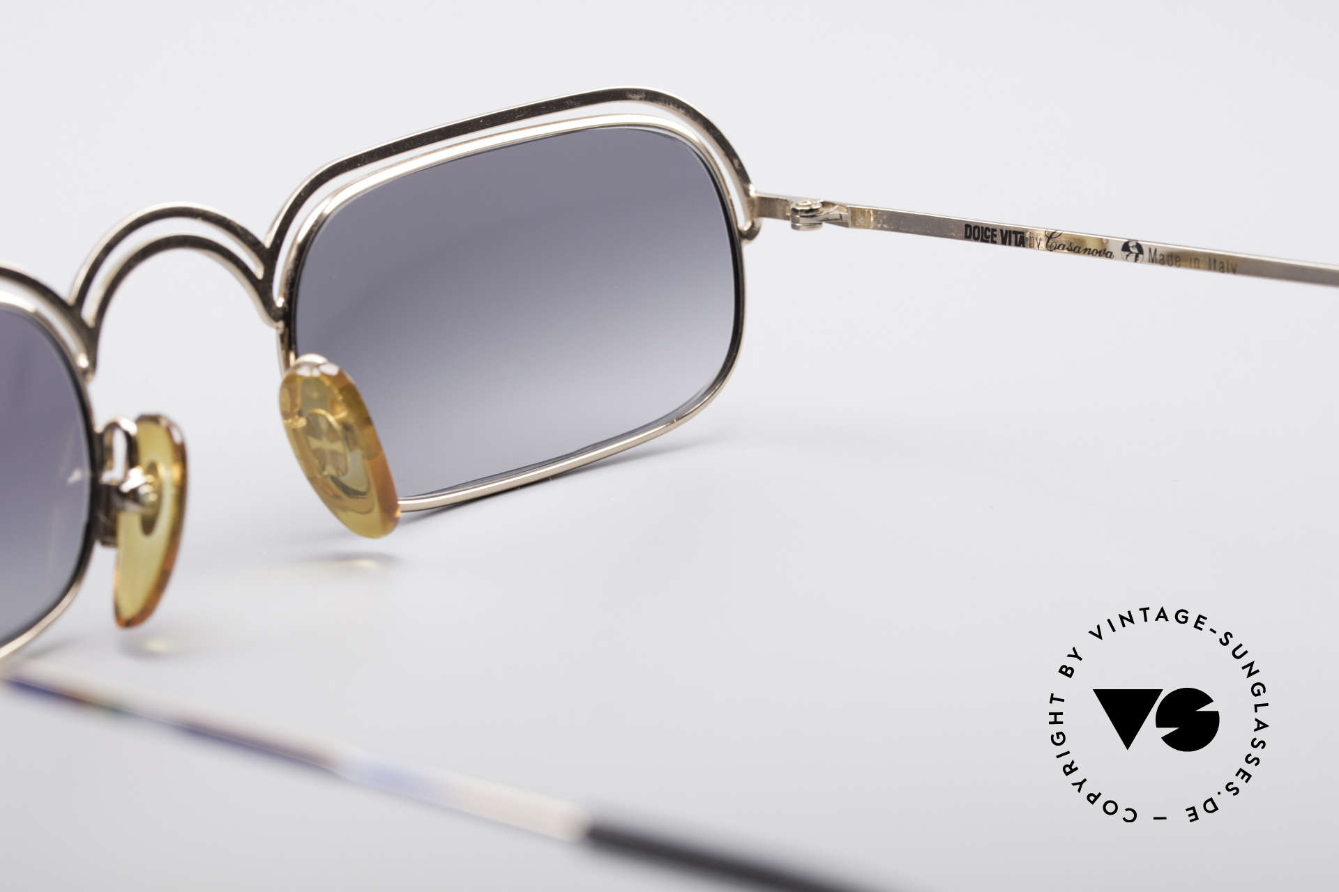 Casanova DV14 Dolce Vita Sunglasses, NOS - unworn (like all our artistic vintage sunglasses), Made for Men and Women