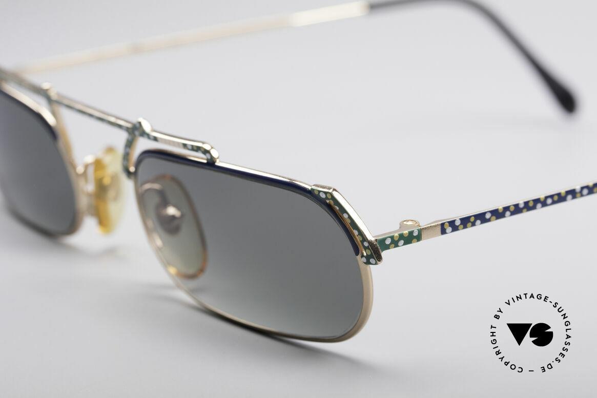 Casanova LC29 Artful 80's Sunglasses, actually belongs in a musem, since 'a piece of art', Made for Men and Women