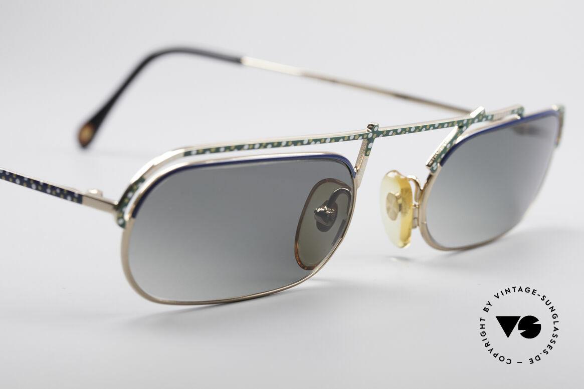 Casanova LC29 Artful 80's Sunglasses, unworn (like all our rare vintage Casanova eyewear), Made for Men and Women