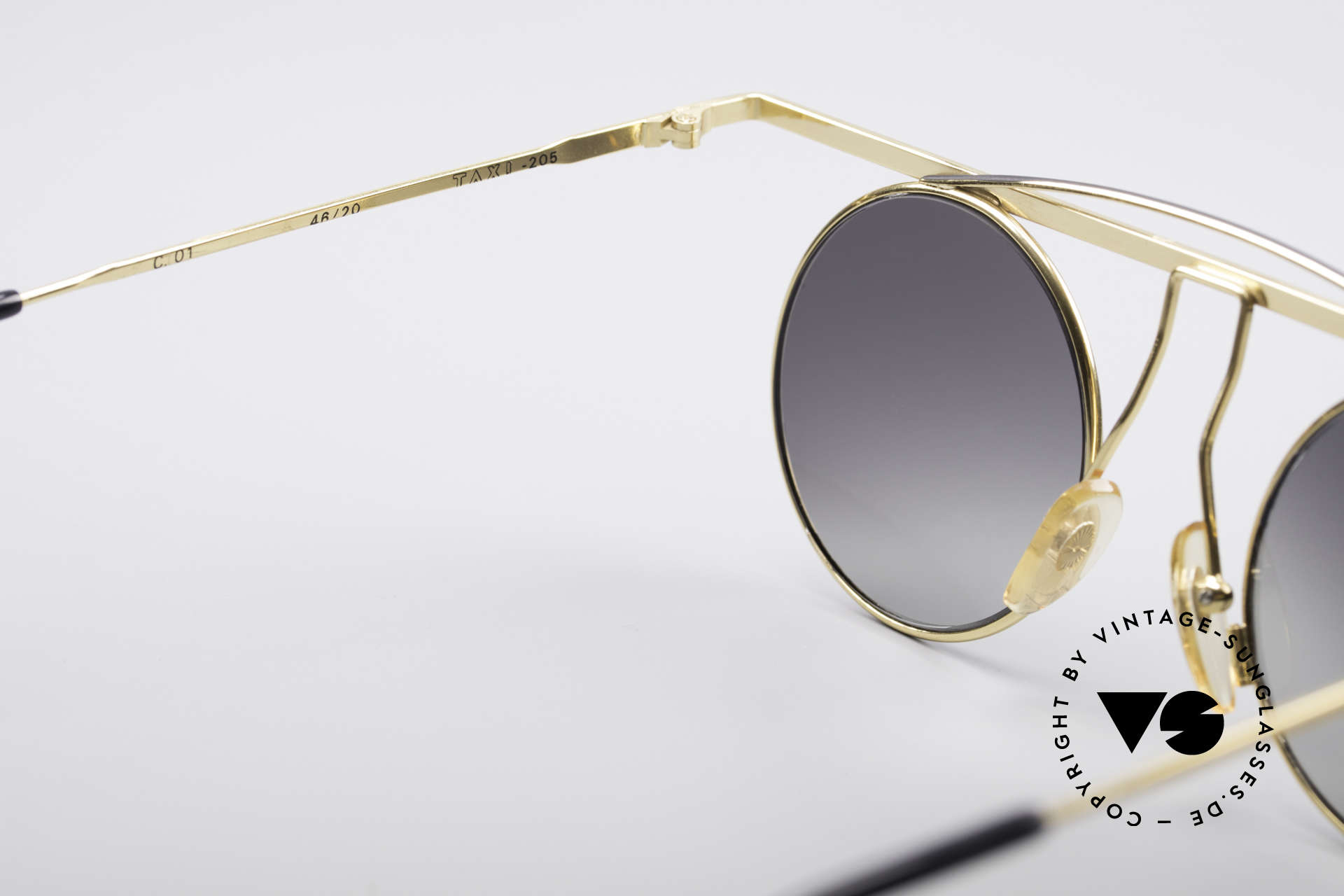 Taxi 205 by Casanova Art Sunglasses, the sun lenses could be replaced with optical lenses, Made for Women