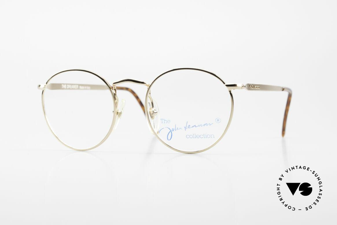 John Lennon - The Dreamer Extra Small Vintage Frame, mod. 'The Dreamer': panto eyeglass-frame in 47mm size, Made for Men and Women