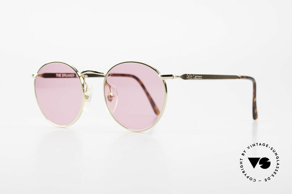 John Lennon - The Dreamer X-Small Pink Vintage Glasses, all models named after famous J.Lennon / Beatles songs, Made for Men and Women