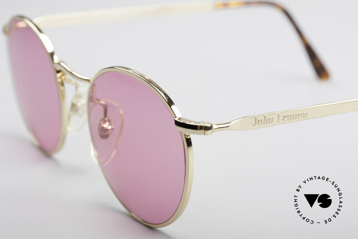 John Lennon - The Dreamer X-Small Pink Vintage Glasses, pink lenses: so, you can see the world thru pink glasses!, Made for Men and Women