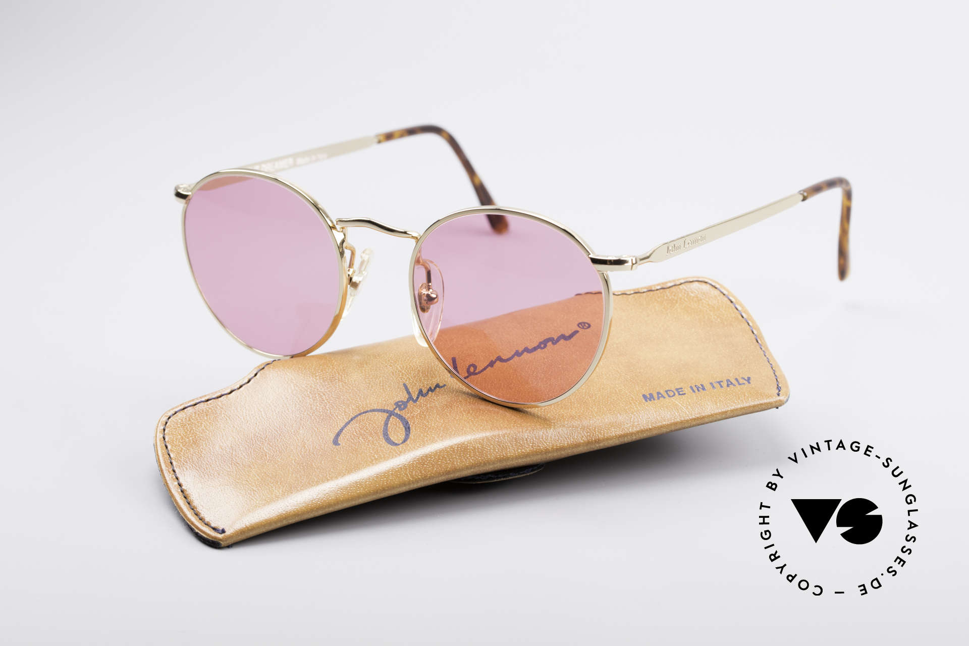John Lennon - The Dreamer X-Small Pink Vintage Glasses, never worn (like all our vintage John Lennon sunglasses), Made for Men and Women