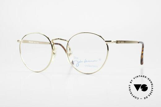 John Lennon - Imagine Small Round Vintage Frame Details