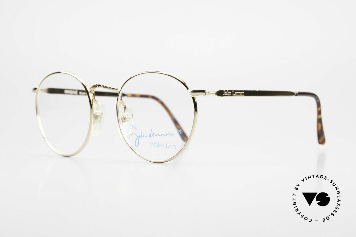 John Lennon - Imagine Small Round Vintage Frame, all models named after famous J.Lennon / Beatles songs, Made for Men and Women
