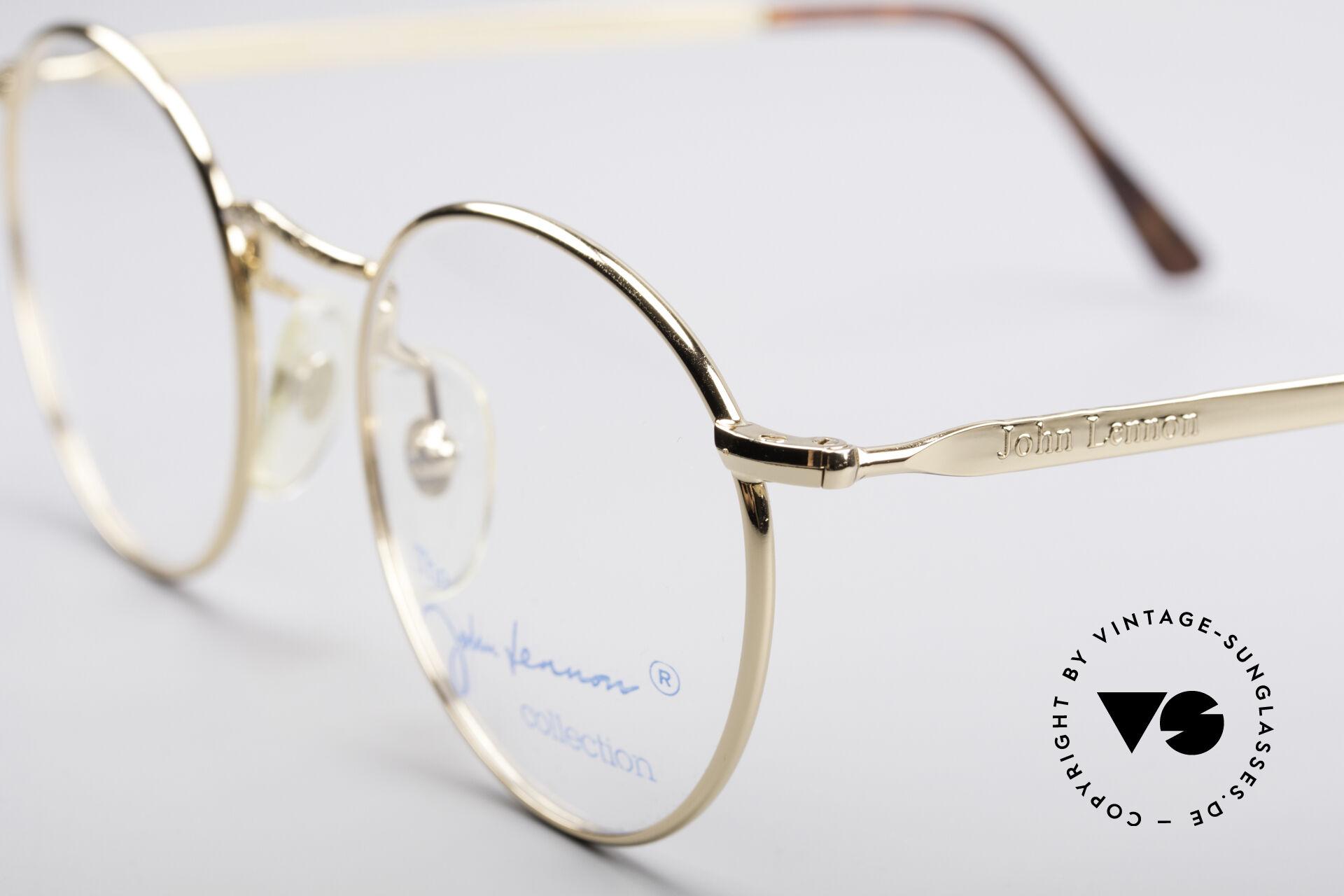 John Lennon - Imagine Small Round Vintage Frame, typical distinctive John Lennon Look, simply legendary, Made for Men and Women