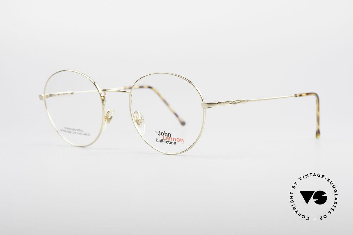 John Lennon - Steel And Glass Round Vintage Frame