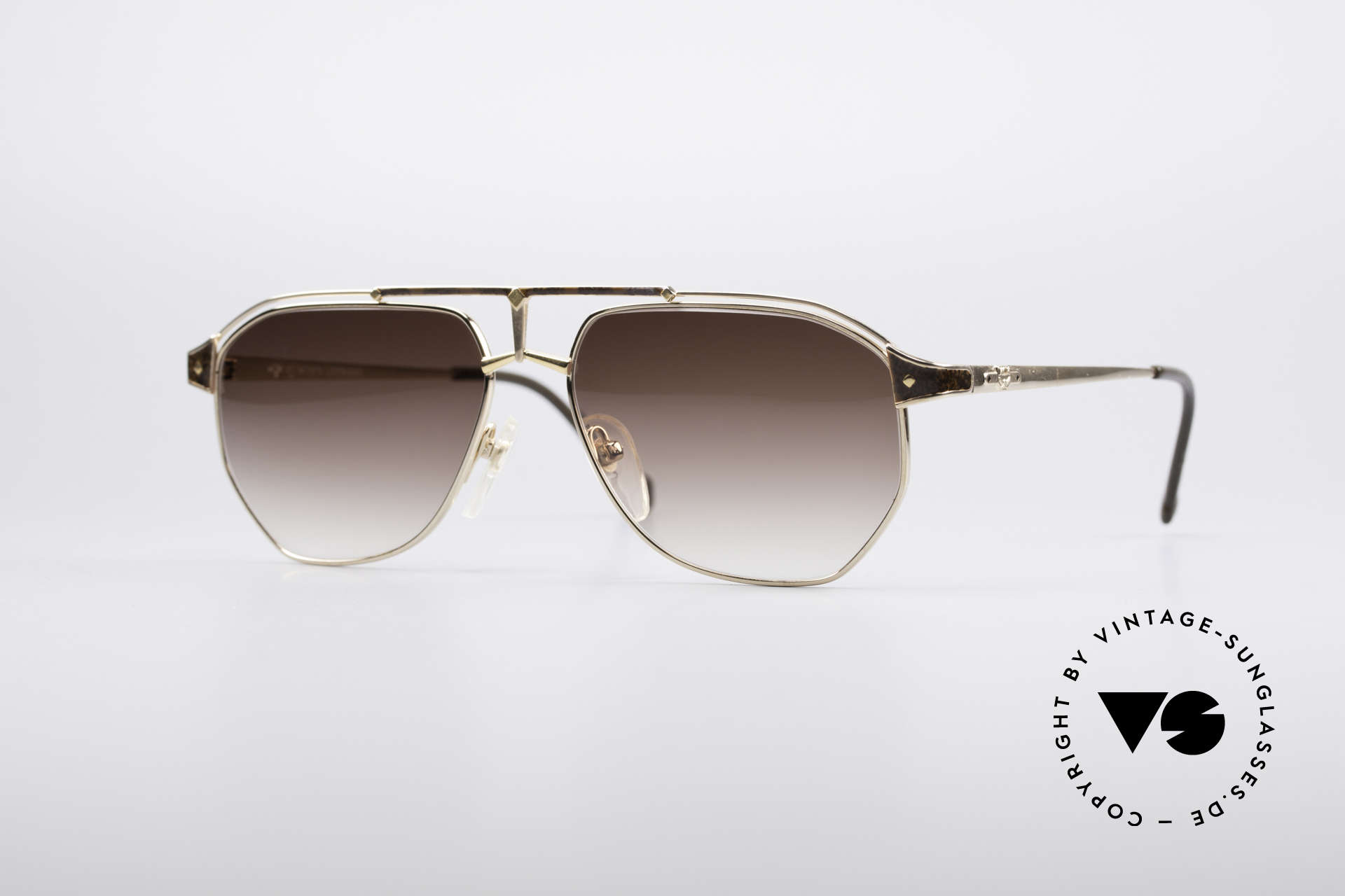 MCM München 6 XL 90's Luxury Shades, extra large designer shades by MCM of the early 90's, Made for Men