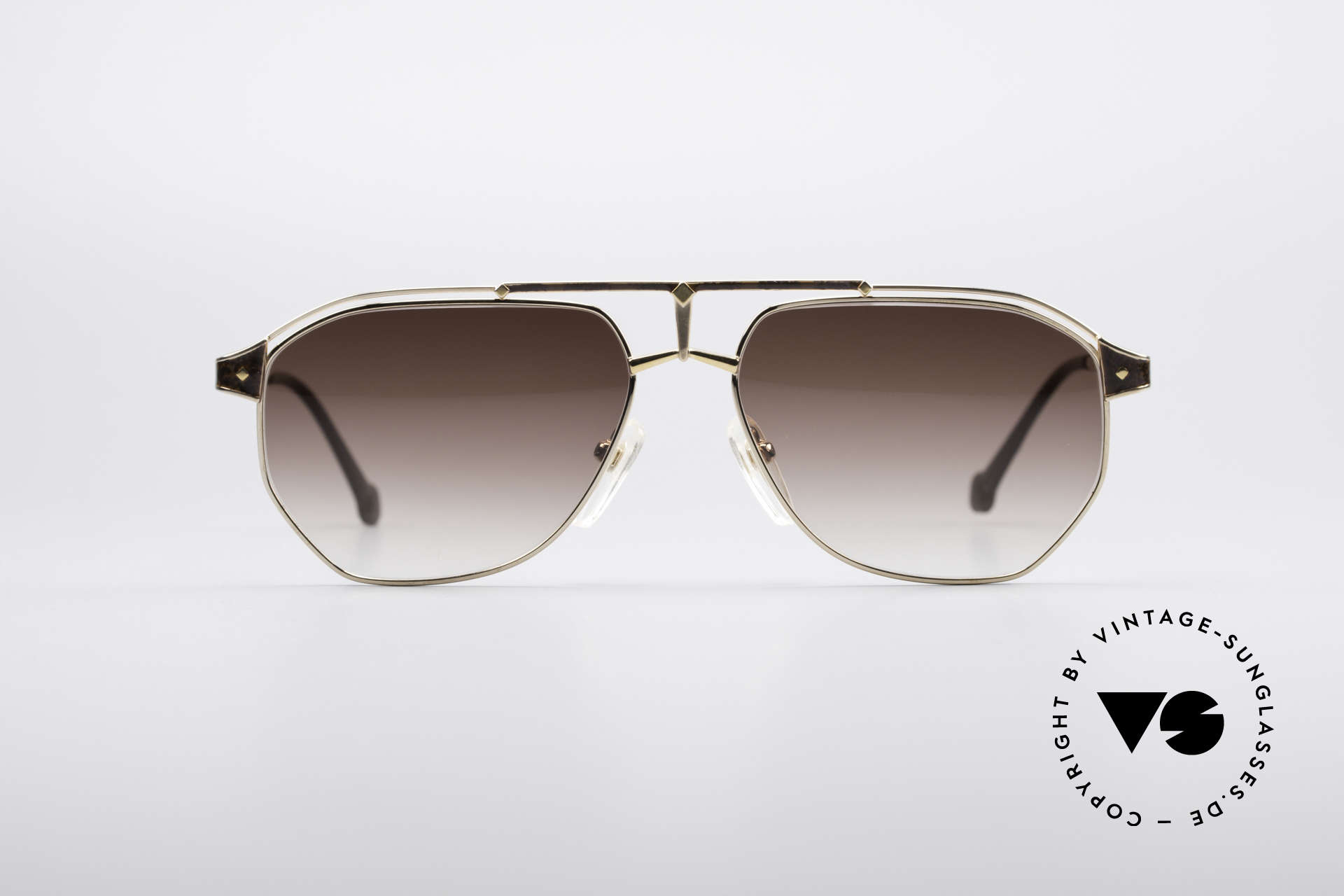 MCM München 6 XL 90's Luxury Shades, modified aviator design (150mm frame width) = XXL, Made for Men