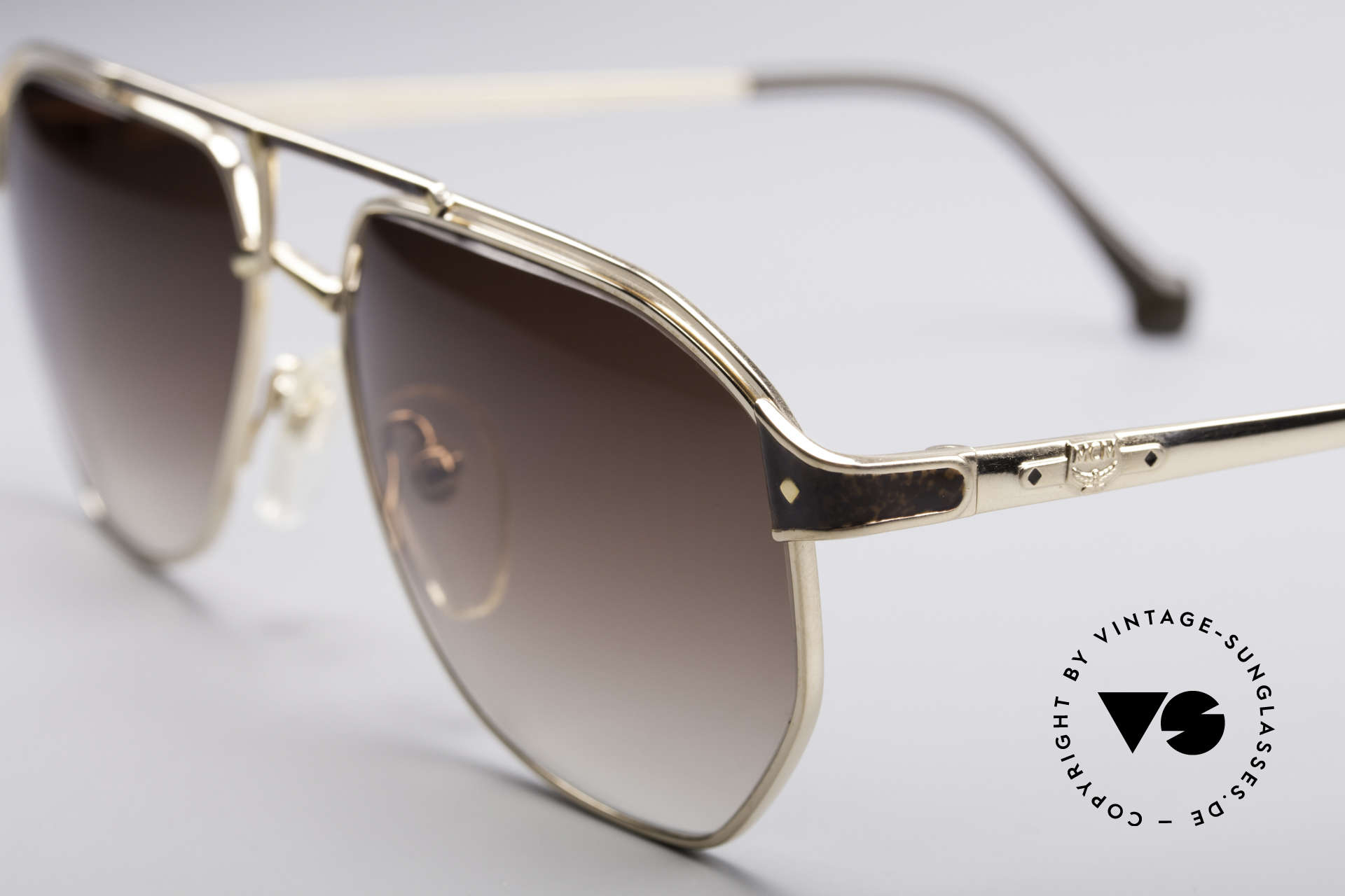 MCM München 6 XL 90's Luxury Shades, precious frame with serial number & 1st class quality, Made for Men