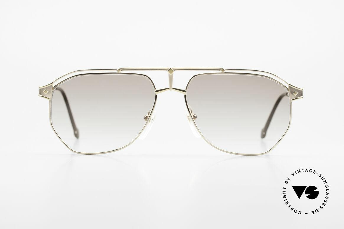 MCM München 6 Rare XL 90's Luxury Sunglasses, modified aviator design (150mm frame width) = XXL, Made for Men