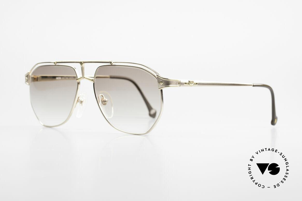 MCM München 6 Rare XL 90's Luxury Sunglasses, but still lightweight & comfortable; Titanium material, Made for Men