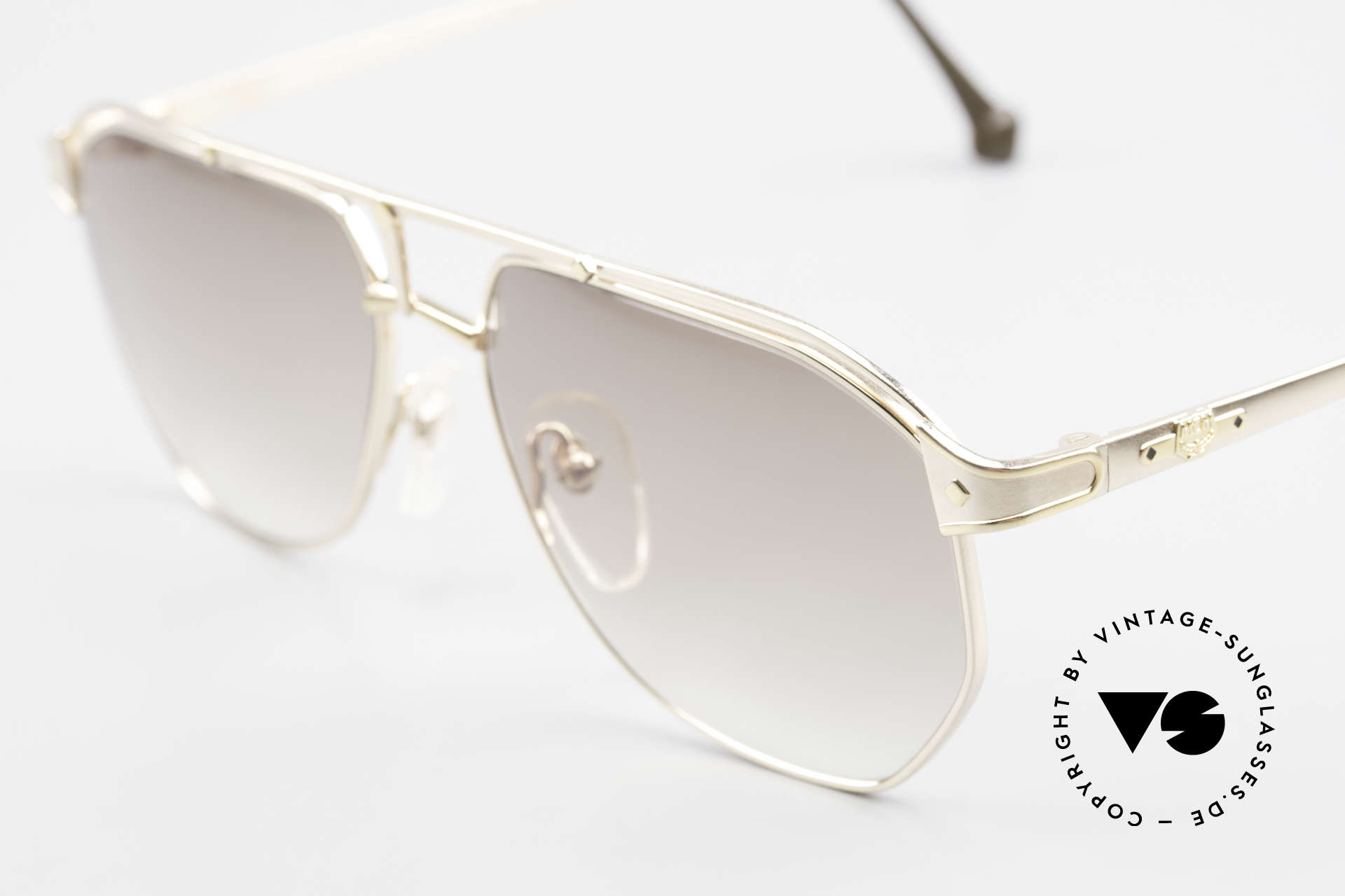 MCM München 6 Rare XL 90's Luxury Sunglasses, precious frame with serial number & 1st class quality, Made for Men