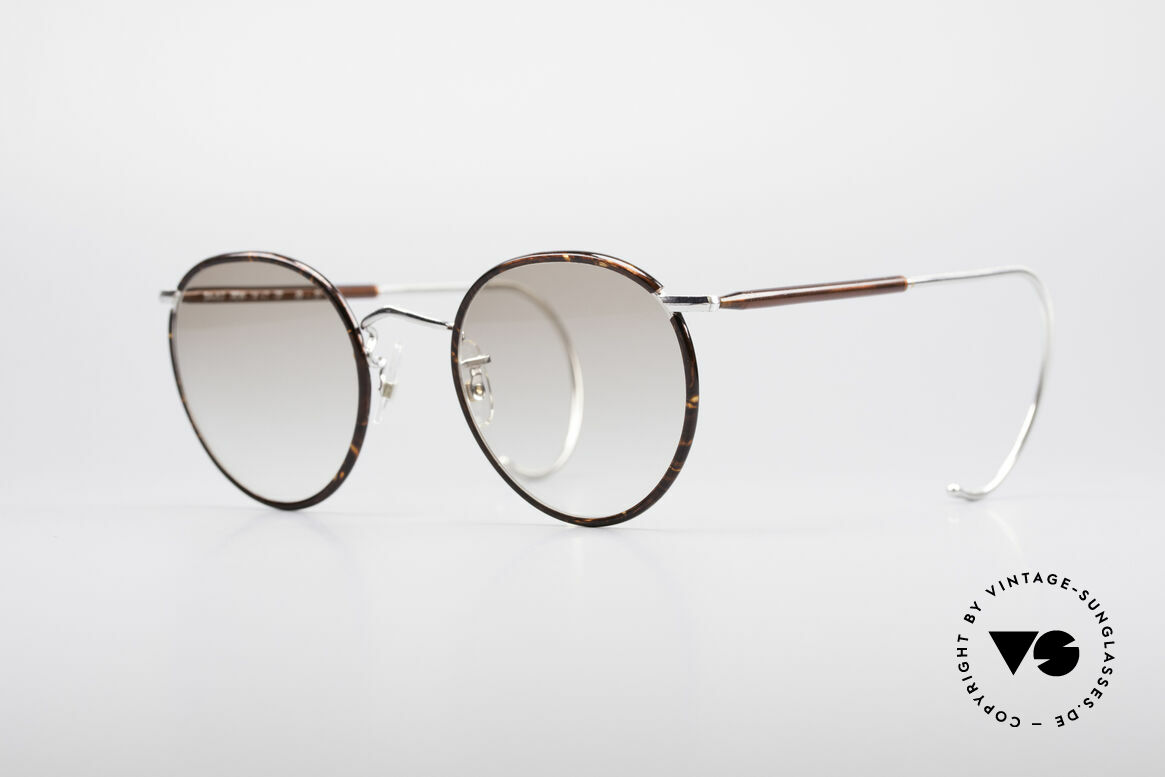 Savile Row Panto 49/22 Johnny Depp Glasses, 'The Savile Row Collection' by ALGHA, UK Optical, Made for Men