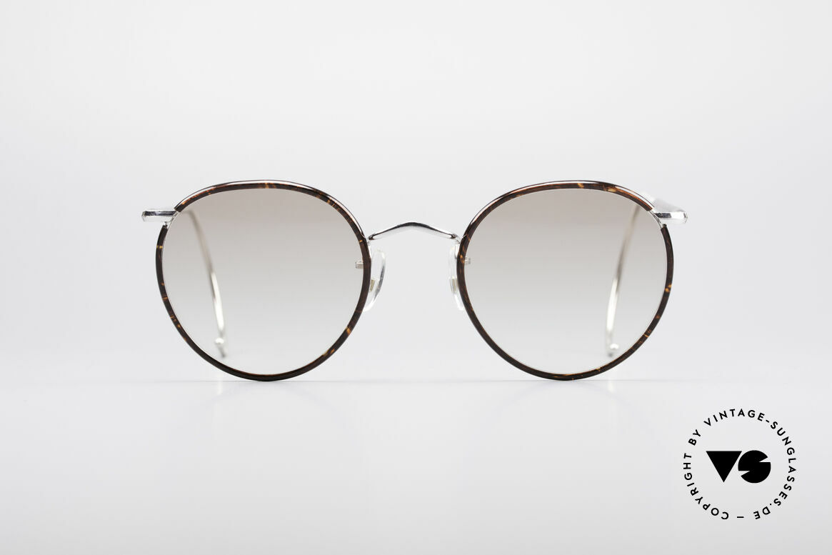 Savile Row Panto 49/22 Johnny Depp Glasses, classic round vintage panto-glasses from the 80's, Made for Men