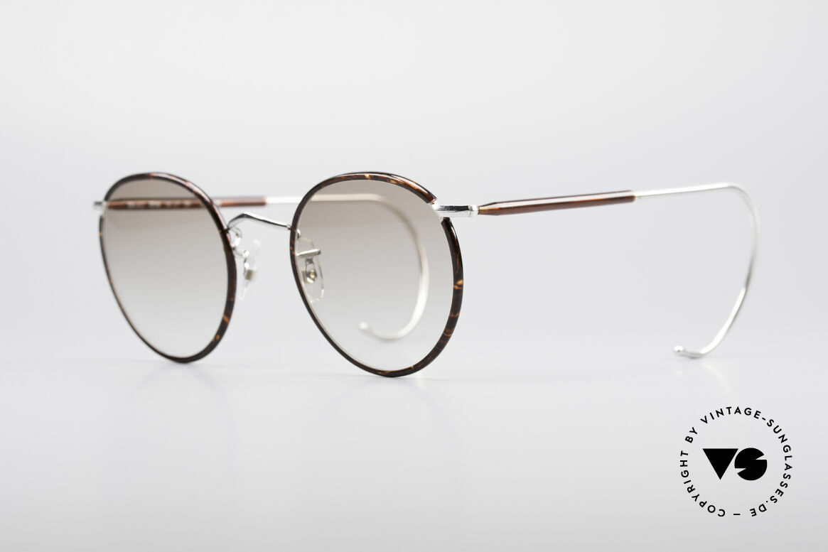 Savile Row Panto 49/22 Johnny Depp Glasses, finest manufacturing (gold-filled); made in the UK, Made for Men
