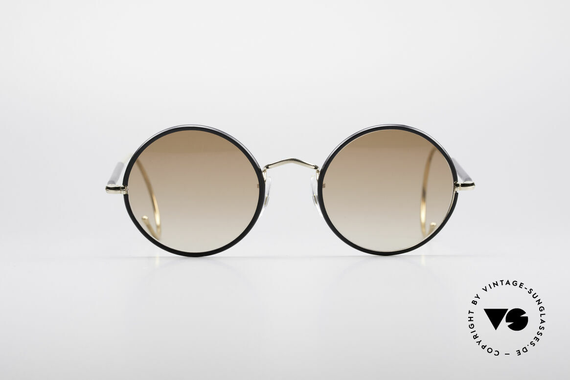 Savile Row Round 47/20 Harry Potter Glasses, timeless round vintage sunglasses from the 1980's, Made for Men