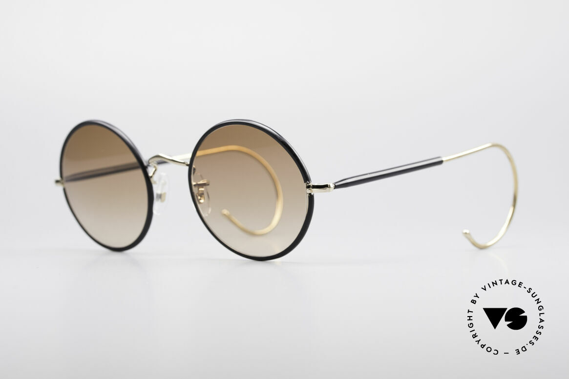 Savile Row Round 47/20 Harry Potter Glasses, finest manufacturing (gold-filled), made in England, Made for Men