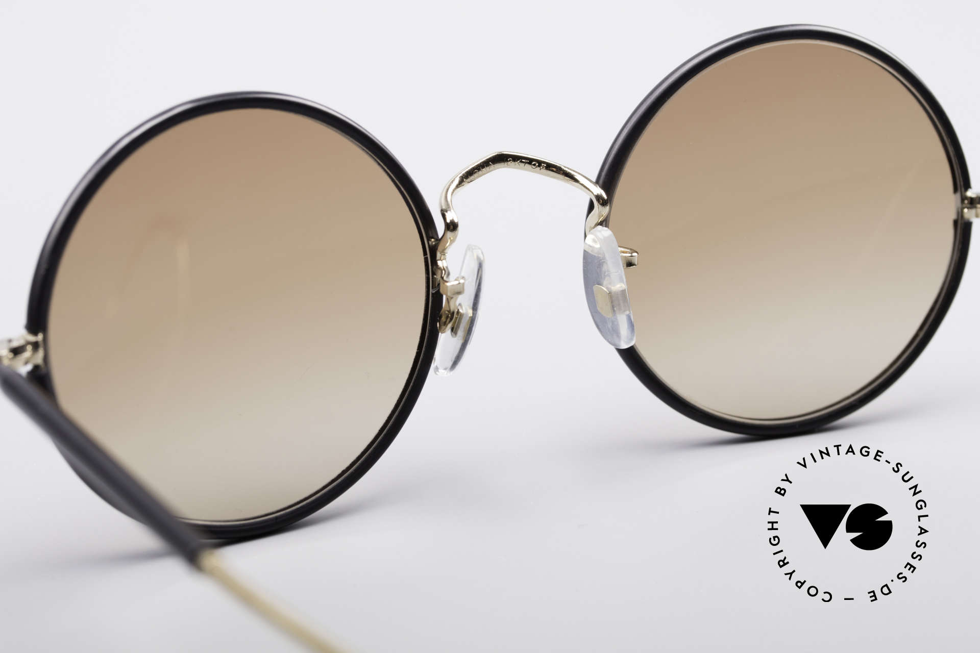 Savile Row Round 47/20 Harry Potter Glasses, unworn rarity, size 47/20, light brown tinted lenses, Made for Men