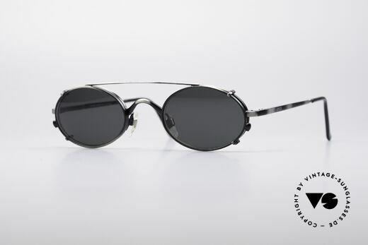 Giorgio Armani 122 Clip On Vintage Frame Details
