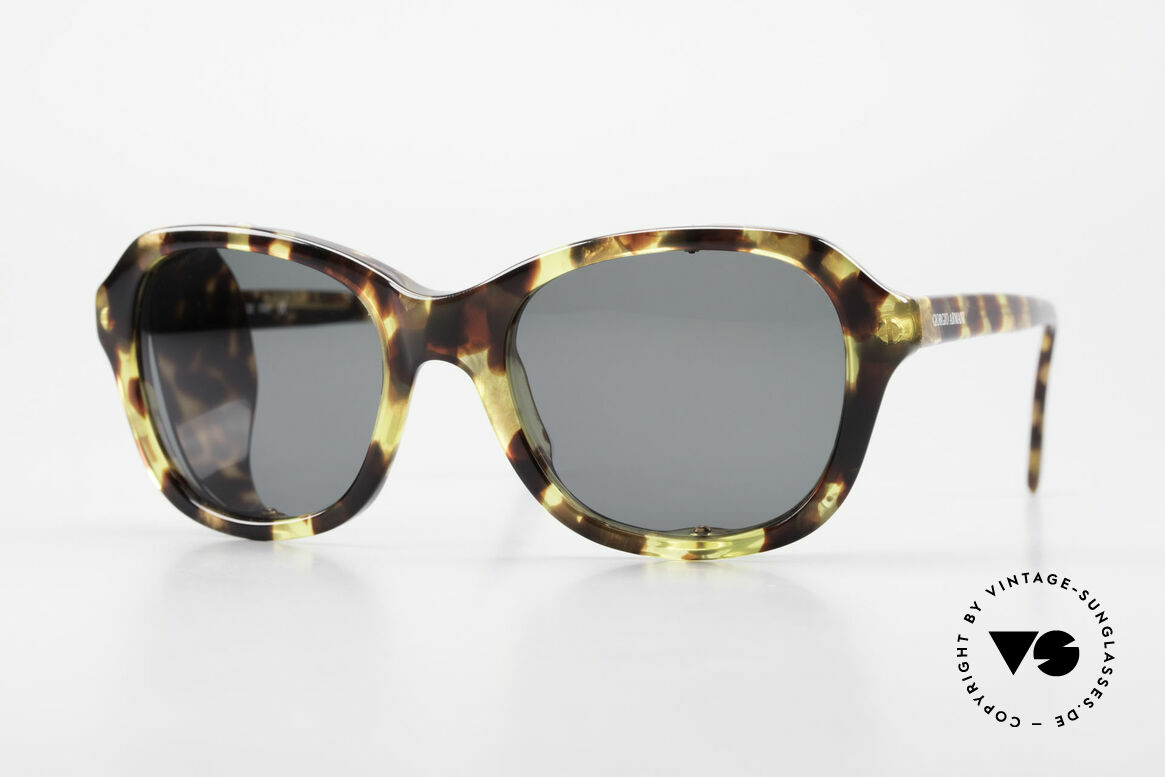 Giorgio Armani 826 No Retro Sunglasses True 90s, with movable side shields (can be removed completely), Made for Women