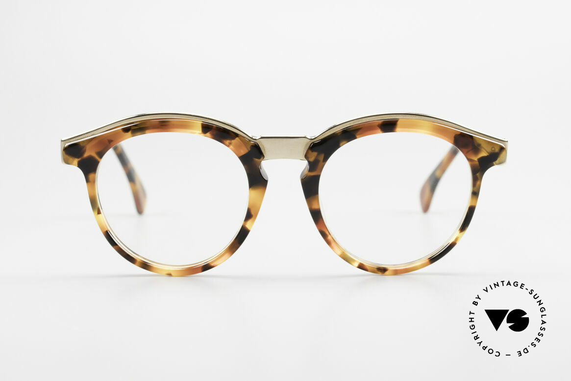Alain Mikli 626 / 281 Old 80's Vintage Panto Glasses, model 626 / 281 = a true design classic from 1989, Made for Men