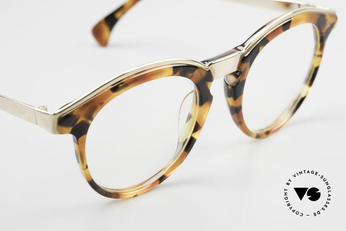 Alain Mikli 626 / 281 Old 80's Vintage Panto Glasses, unworn (like all our rare vintage A. Mikli eyeglasses), Made for Men