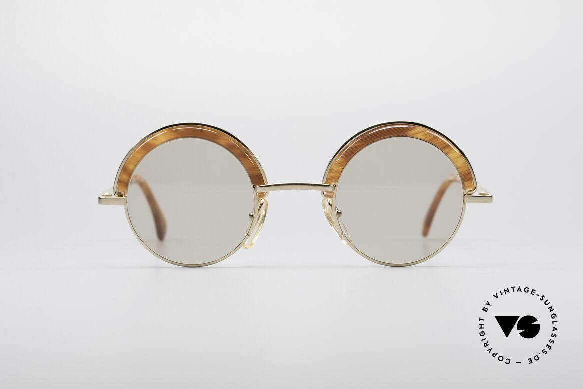 Alain Mikli 631 / 246 Round 80's Glasses