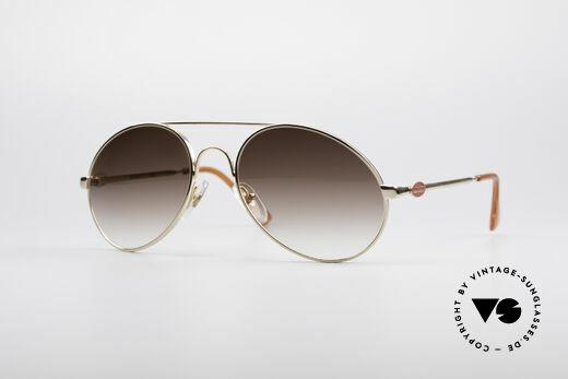 Bugatti 65986 Luxury 80's Sunglasses Details
