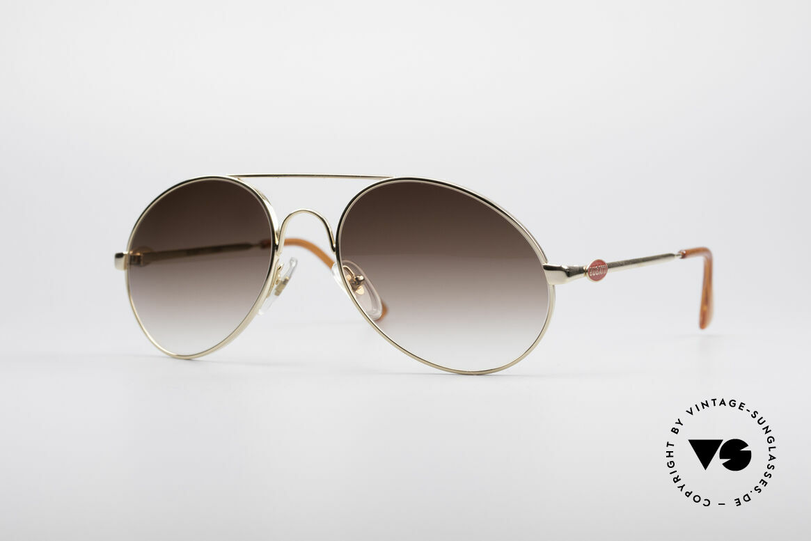 Bugatti 65986 Luxury 80's Sunglasses