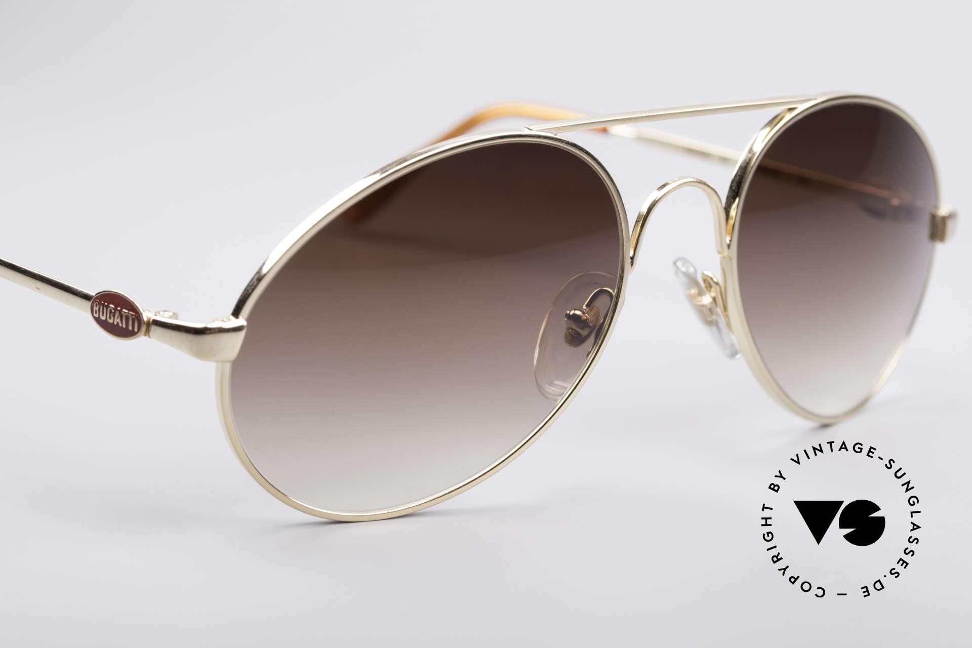 Bugatti 65986 Luxury 80's Sunglasses, unworn (like all our vintage Bugatti eyewear), Made for Men