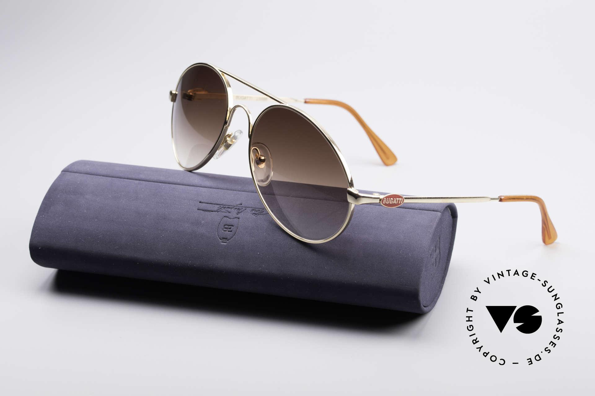 Bugatti 65986 Luxury 80's Sunglasses, NO retro shades, but a true old 80's ORIGINAL, Made for Men