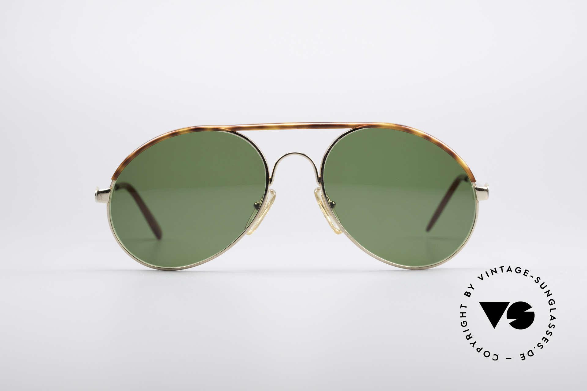 Bugatti 65986 Men's 80's Sunglasses, legendary vintage BUGATTI 'tear drop' design, Made for Men