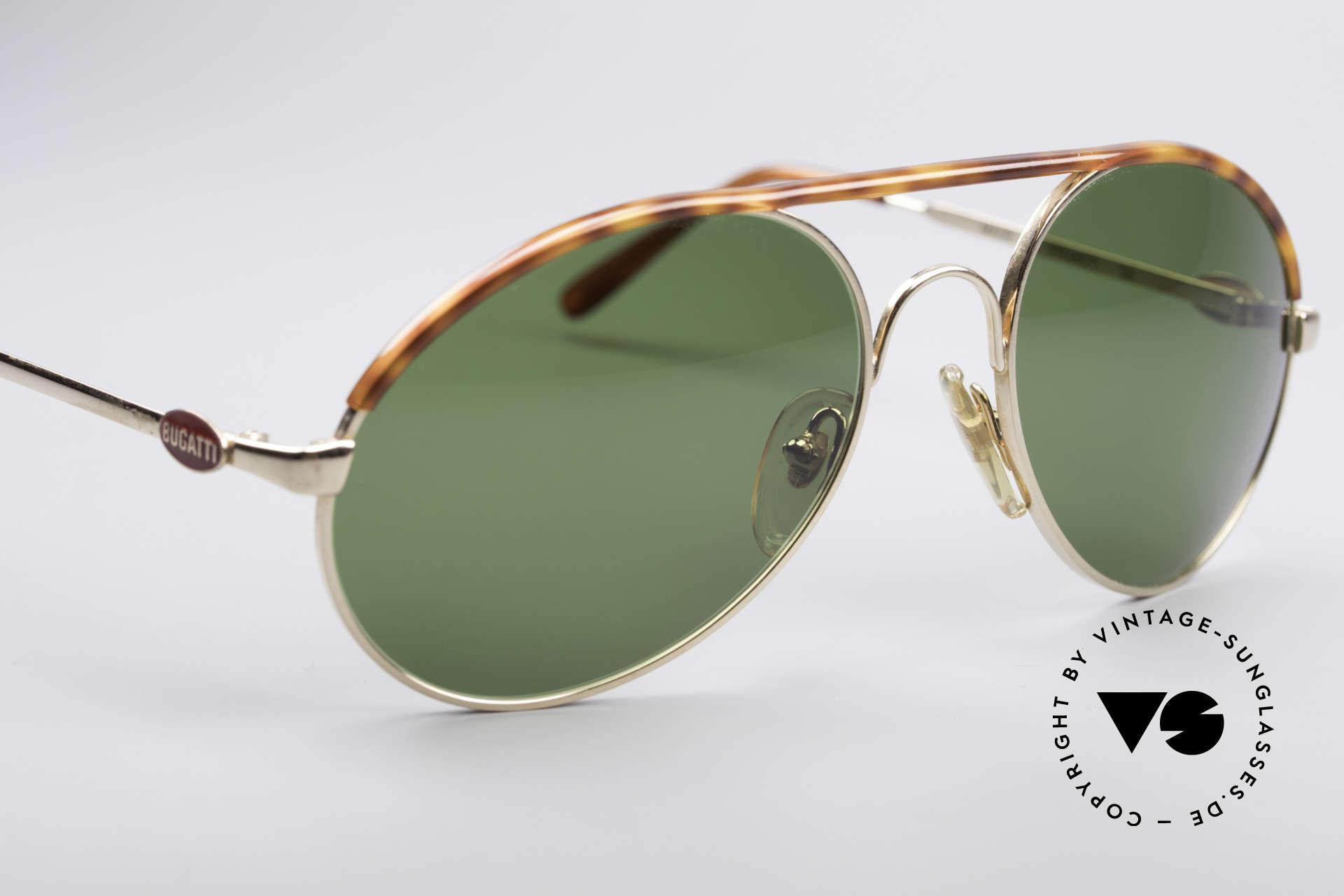 Bugatti 65986 Men's 80's Sunglasses, unworn (like all our vintage Bugatti eyewear), Made for Men