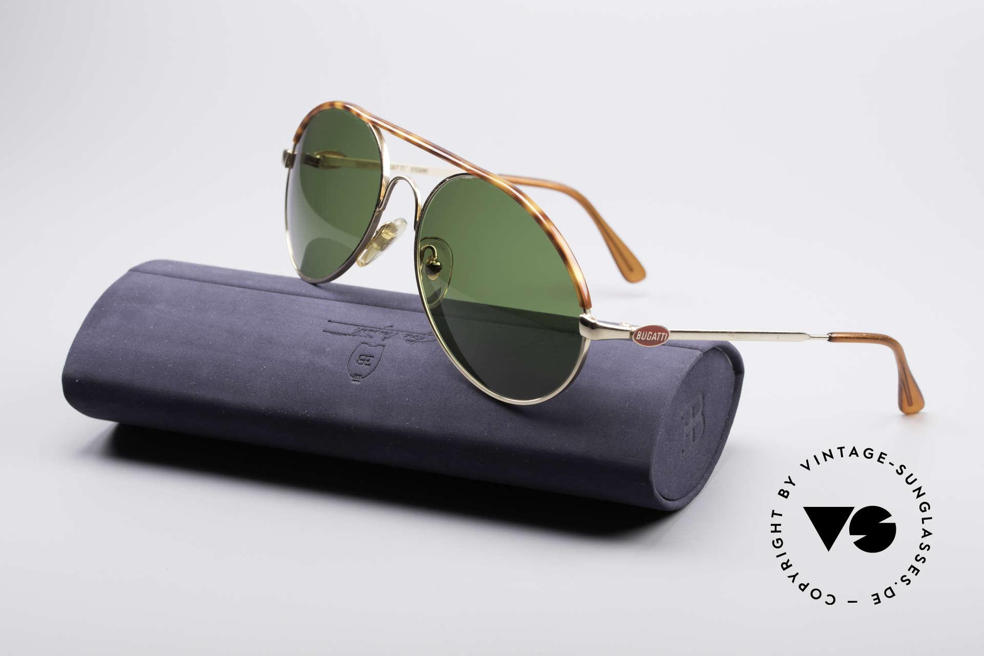 Bugatti 65986 Men's 80's Sunglasses, NO retro shades, but a true old 80's ORIGINAL, Made for Men