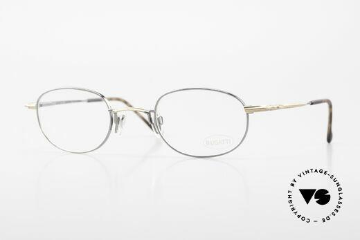 Bugatti 23592 Rare 90's Luxury Eyeglasses Details