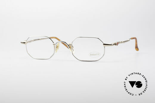 Bugatti 29978 Square Luxury Eyeglasses Details