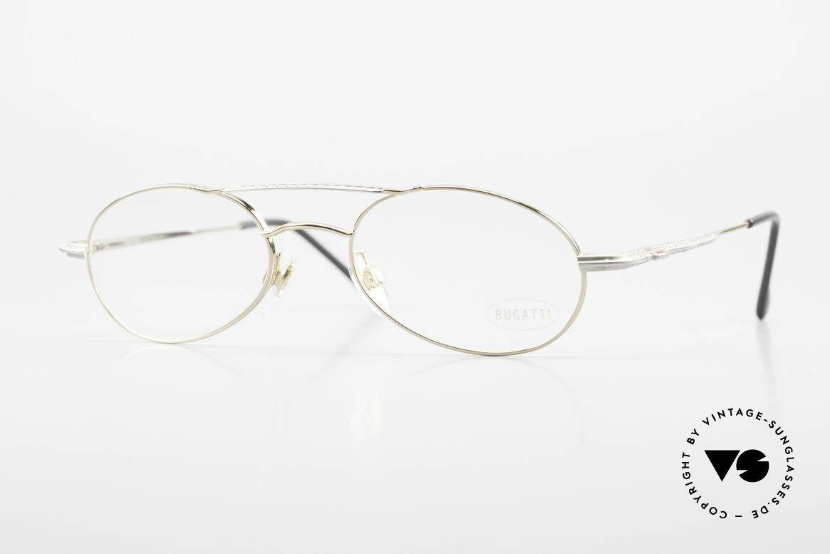 Bugatti 22996 Rare 90's Men's Eyeglass-Frame, very elegant vintage designer eyeglasses by Bugatti, Made for Men