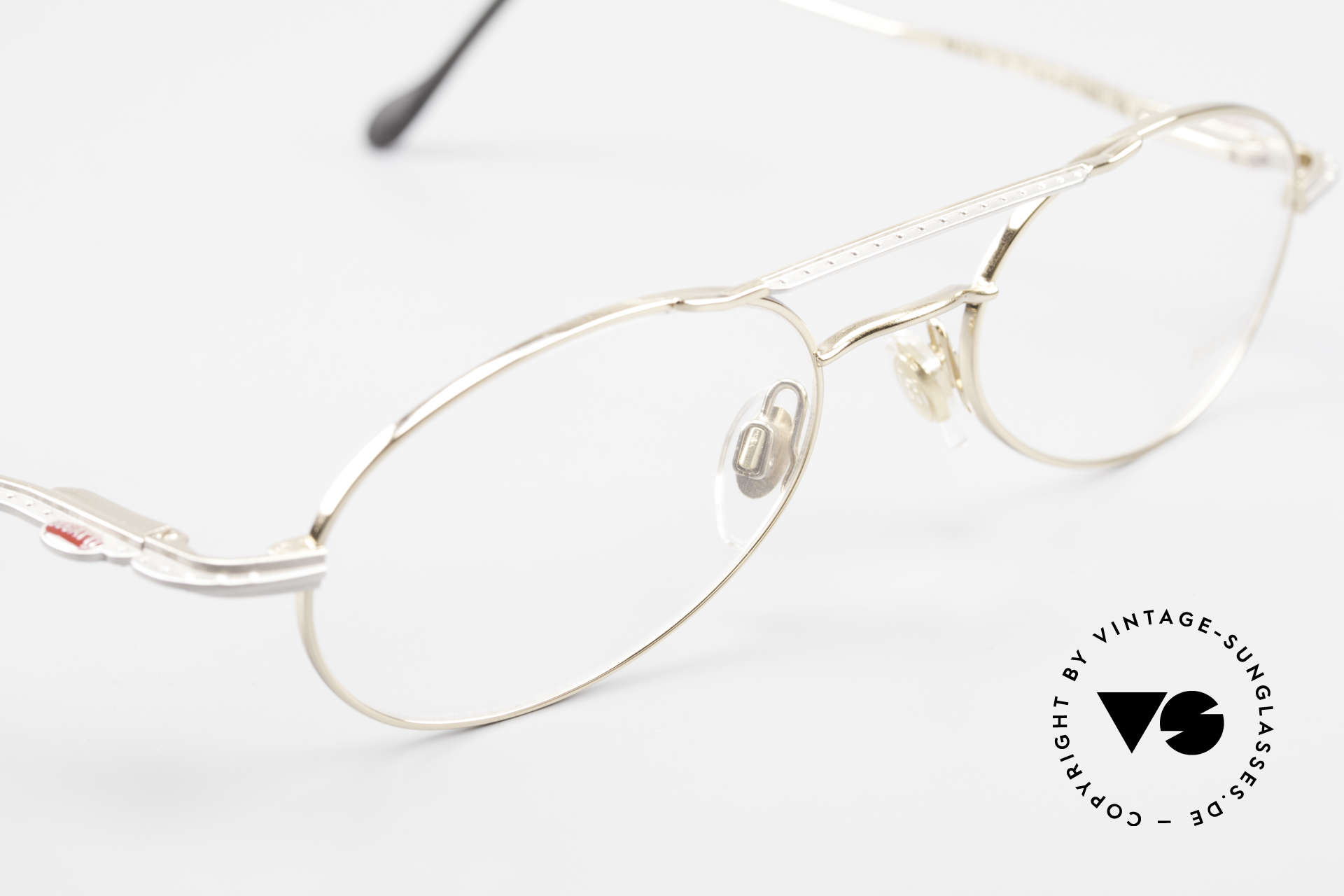 Bugatti 22996 Rare 90's Men's Eyeglass-Frame, unworn (like all our rare vintage Bugatti eyeglasses), Made for Men