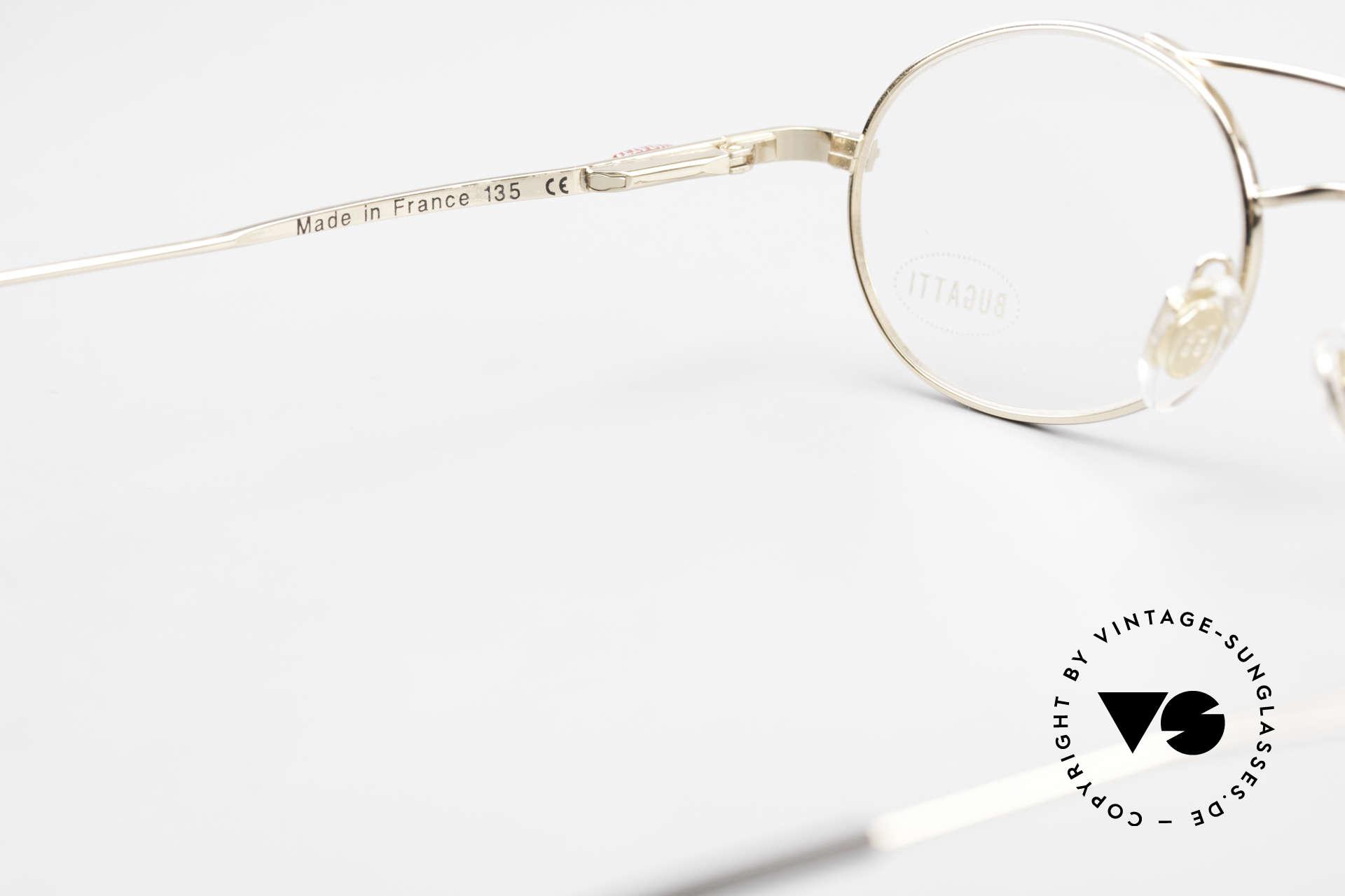 Bugatti 22996 Rare 90's Men's Eyeglass-Frame, NO RETRO specs, but a precious old original; vertu!, Made for Men