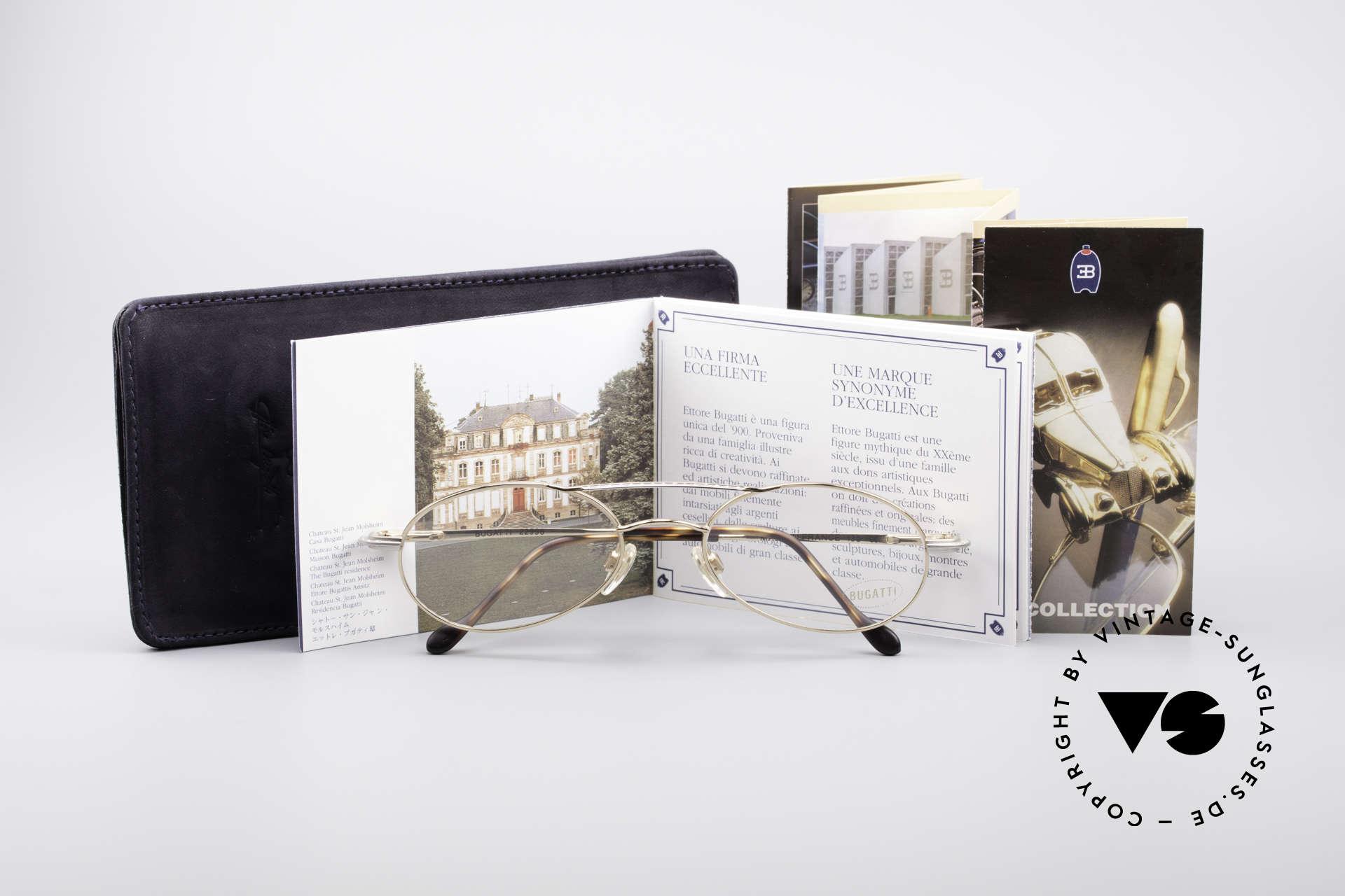 Bugatti 22996 Rare 90's Men's Eyeglass-Frame, Size: medium, Made for Men