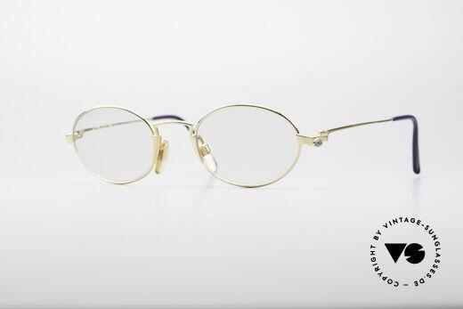 Bugatti EB601 Oval Luxury Eyeglasses Details