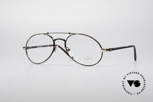 Bugatti 18557 Men's 80's Eyeglasses Details