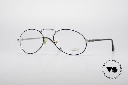 Bugatti 13438 True Vintage Men's Frame Details