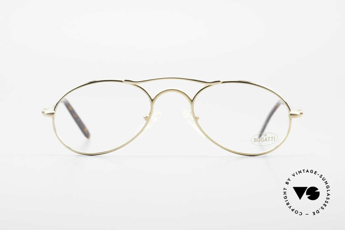 Bugatti 23407 90's Luxury Frame For Men, made in the mid 90's in France (premium quality), Made for Men