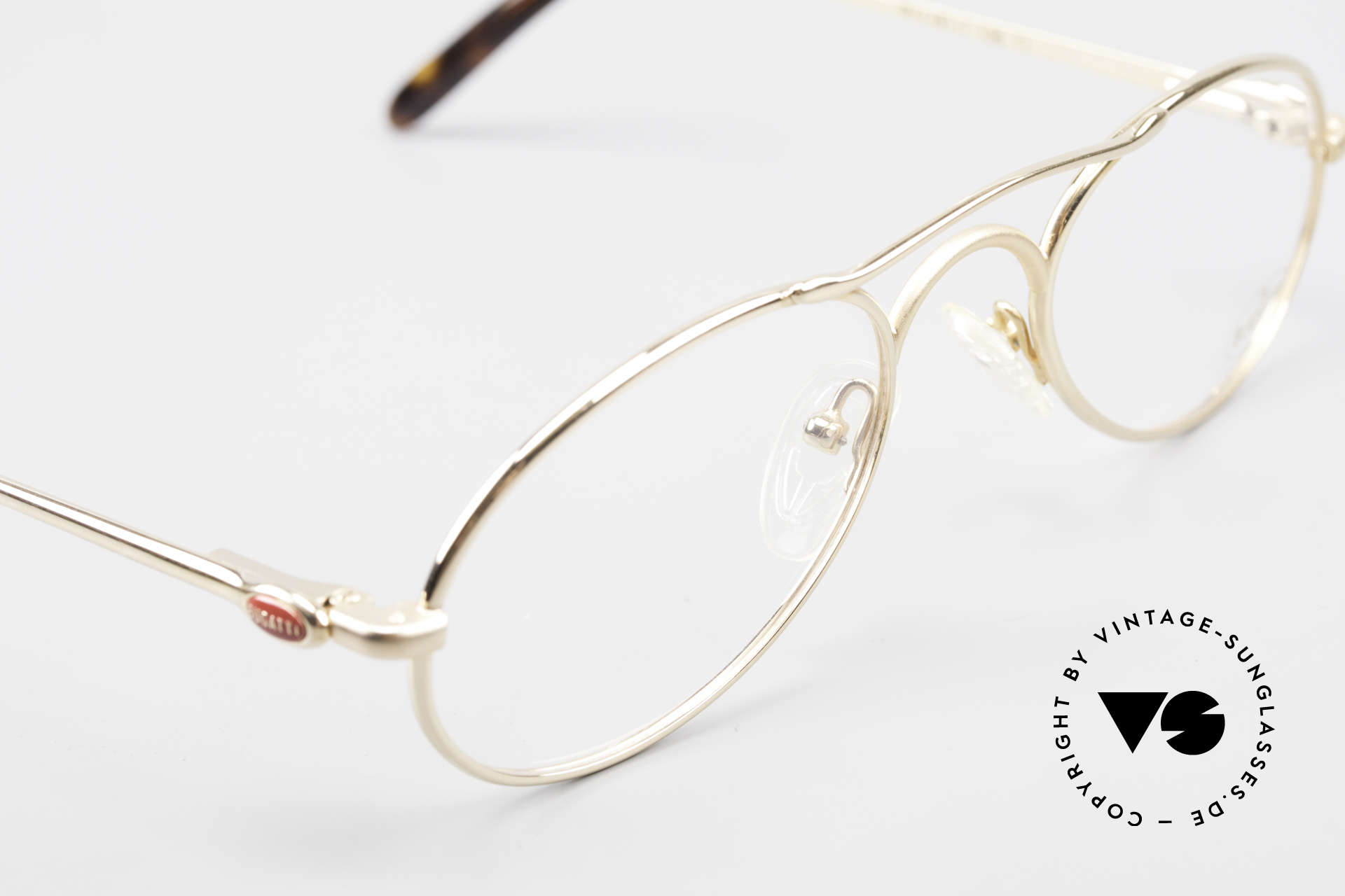 Bugatti 23407 90's Luxury Frame For Men, NO RETRO glasses, but an old 90's original; vertu, Made for Men