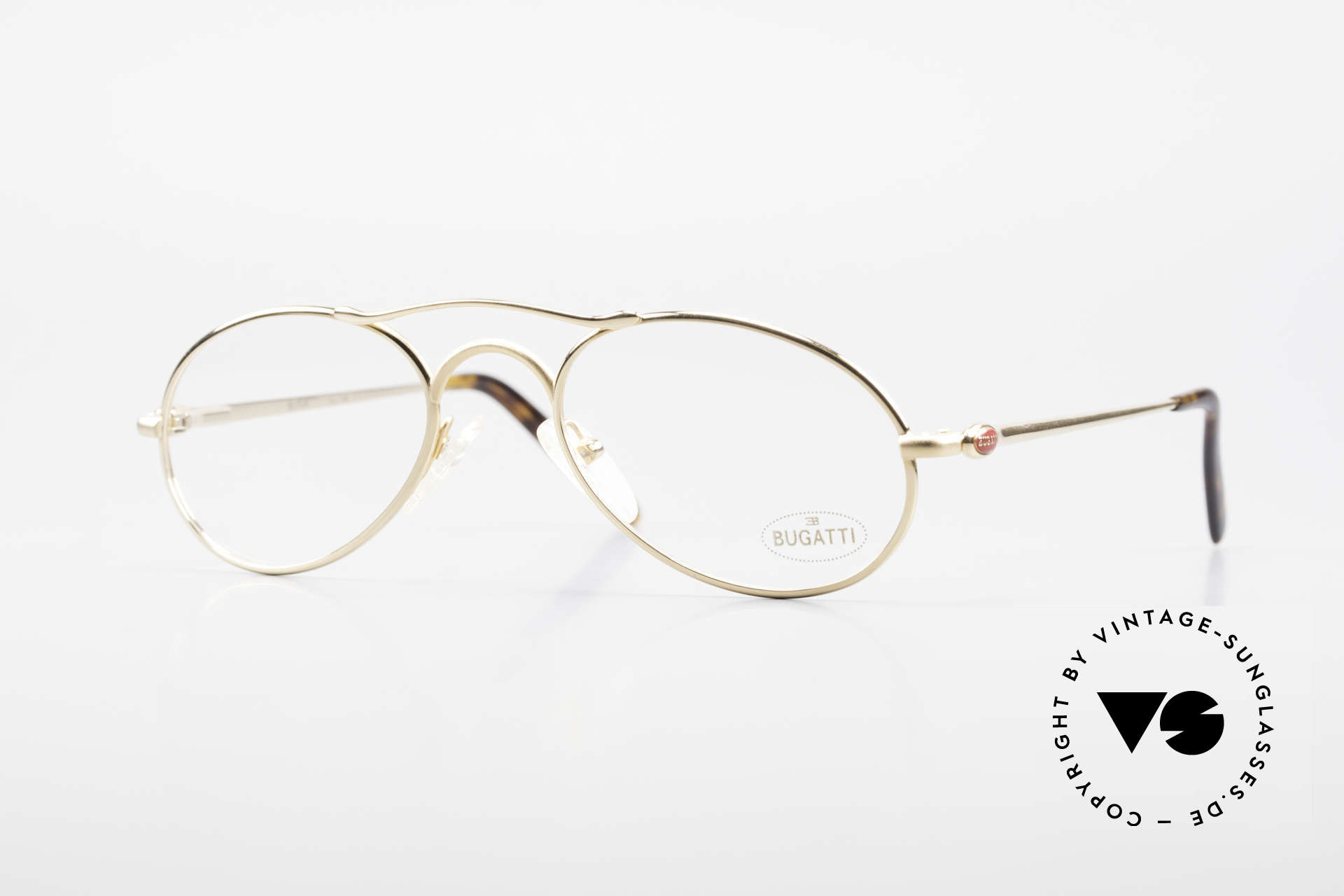Bugatti 23407 Men's Eyeglasses With Clip On, Size: medium, Made for Men
