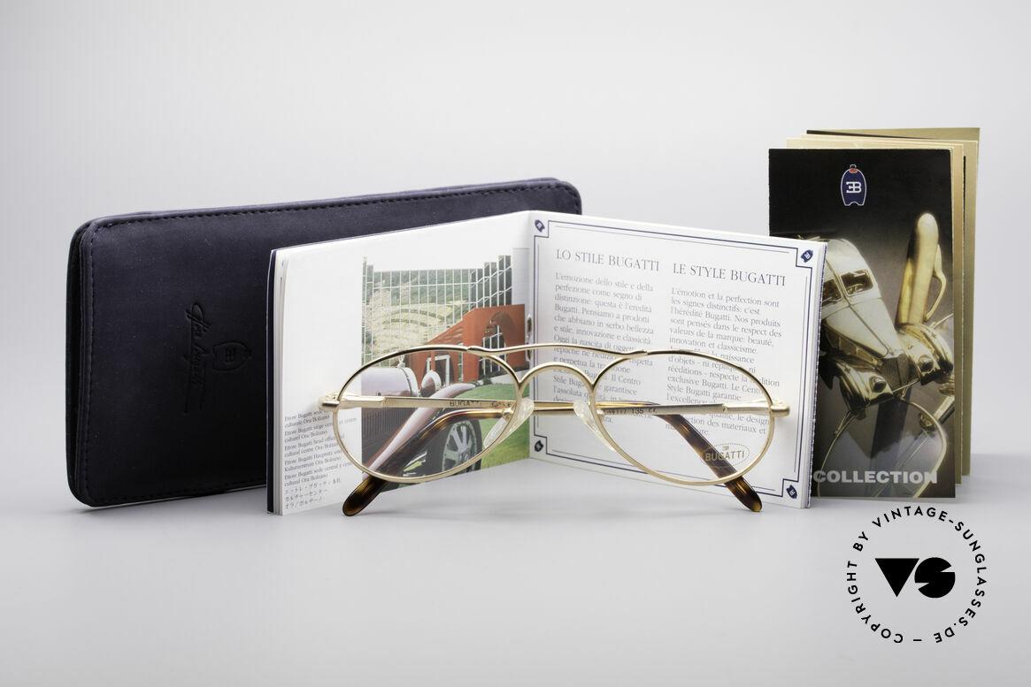 Bugatti 23407 90's Luxury Frame For Men, Size: medium, Made for Men